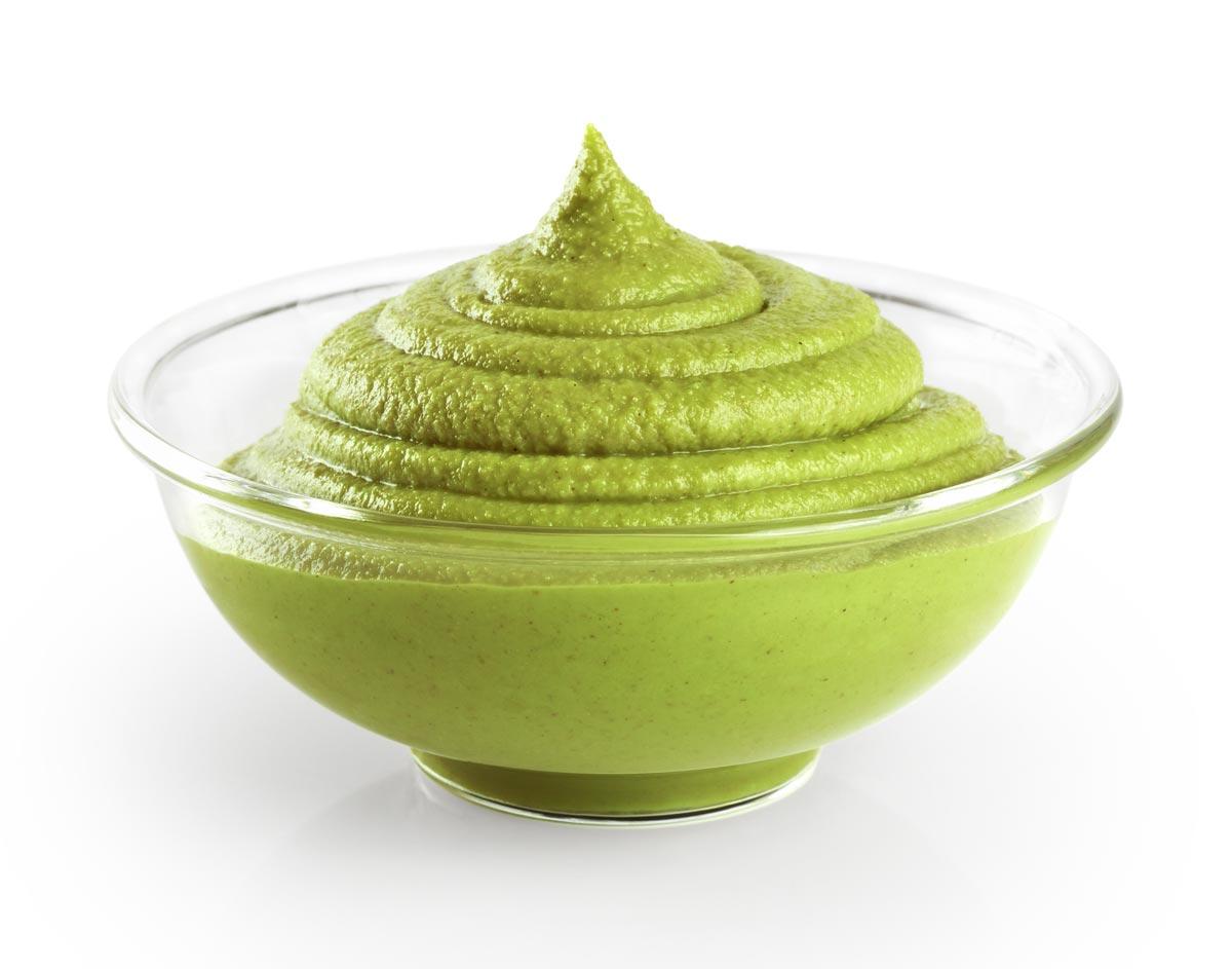 Una salsa wasabi