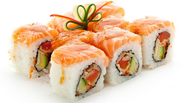 Il Sushi si mangia con le mani