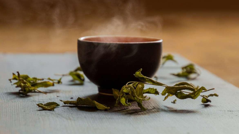 Tè verde per i nostri clienti in attesa degli ordini