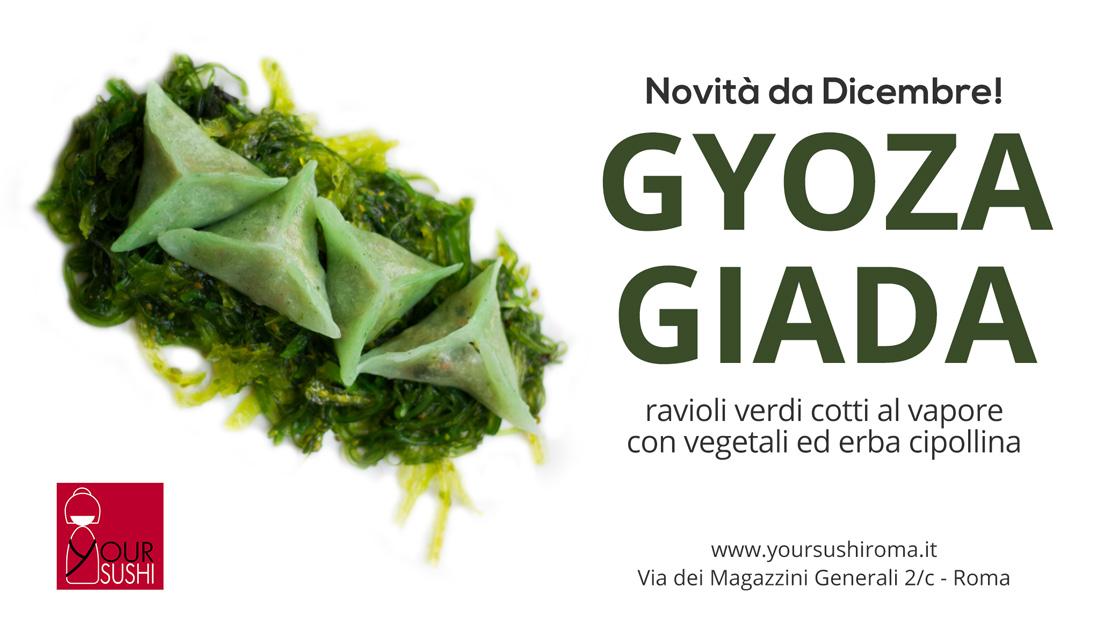 GYOZA GIADA ravioli vegetali
