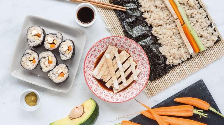 Sushi vegano? certamente, con i nostri Veggie Roll