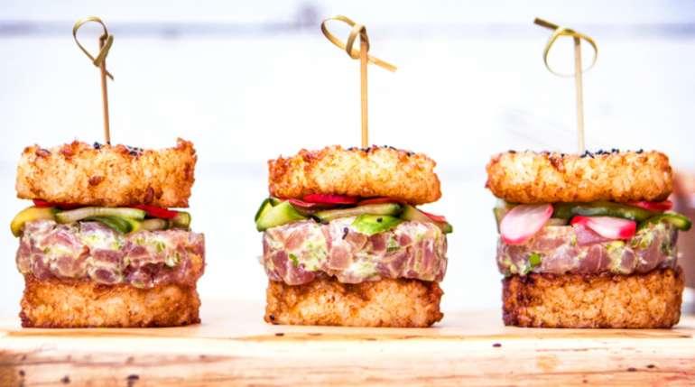 Sushi Burger, quando il sushi diventa un panino imbottito