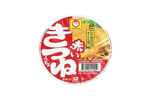 Udon noodles istantanei (Akai Kitsune Udon)