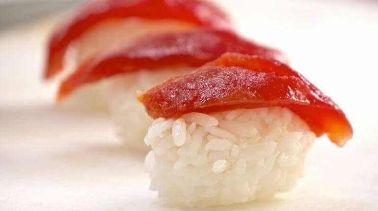 Sashimi vegano?