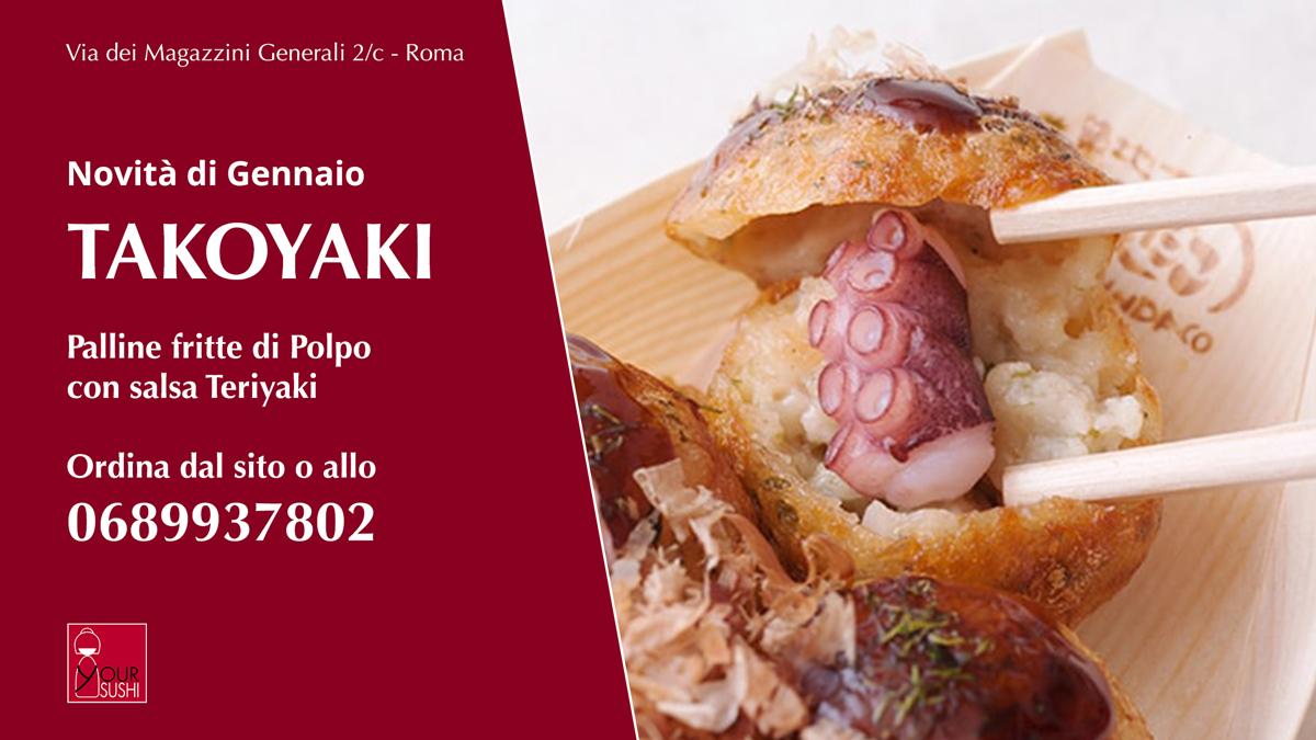 Takoyaki a Roma: i Takoyaki di Your Sushi