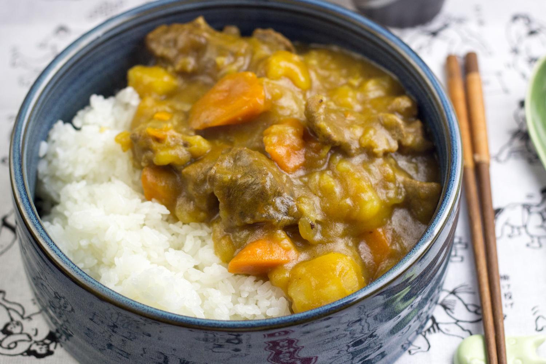 Riso al Curry alla giapponese