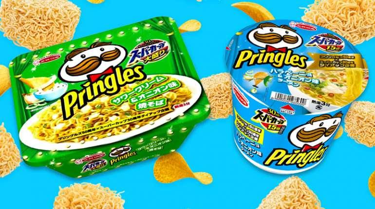 Arrivano i noodle istantanei Pringles