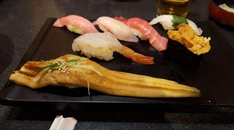 Unagi: un pesce esclusivo