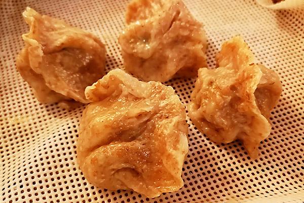 Novità di Luglio: Gyoza con farina integrale, carne suina ed erba cipollina