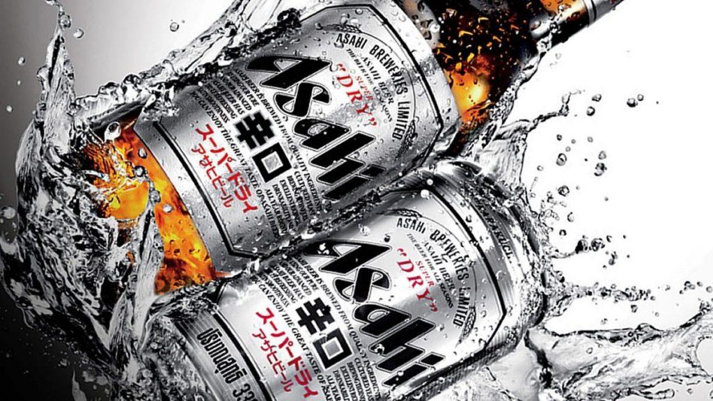 Asahi birra giapponese