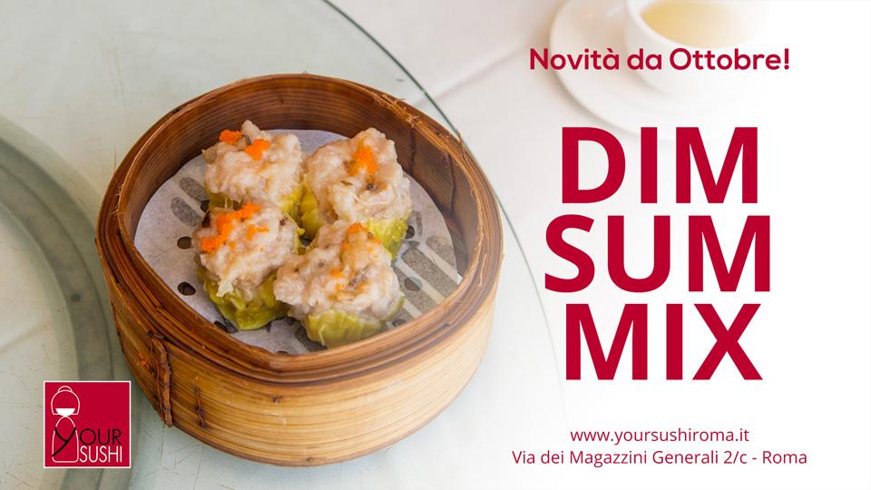 Dim Sum Mix, Your Sushi Roma
